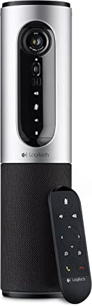 Logitech ConferenceCam Connect All-in-One Video Collaboration Solution for Small Groups – Full HD 1080p Video, USB and Bluetooth Speakerphone, Plug-and-Play