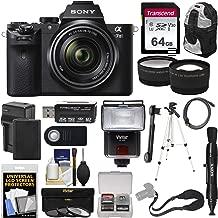 Sony Alpha A7 II Digital Camera & 28-70mm FE OSS Lens with 64GB Card + Battery + Backpack + Strap + Tripod + Flash + Tele & Wide Lens Kit