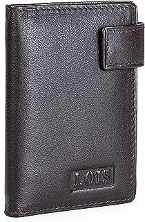 Lois - Tarjetero de Cuero Piel Genuina. 20 Compartimentos Tarjetas. 2 traslúcidos para carnet dni. protección RFID. Caja p...