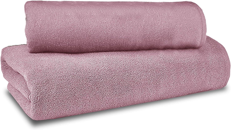 30/X 50/50/x 10070/x 140/cm Fiore di Cotone Set di Asciugamani Doccia Lill/à Cotone 60/% Modal 40/%