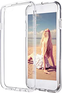 Ailun Clear Phone Case Compatible with iPhone 6s Plus iPhone 6 Plus Shock Absorption Bumper TPU Cover More Durable Than PC Board Anti Fingerprint Oil Stain Siania Package Clear