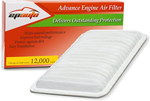discount EPAuto GP360 (CA9360) Replacement lowest for Toyota / Lexus Rigid outlet sale Panel Engine Air Filter online sale