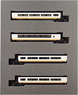 KATO 101296 Eurostar 4-Car Ergänzungs-Set Express Train Passenger cars