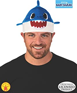 blue shark hat