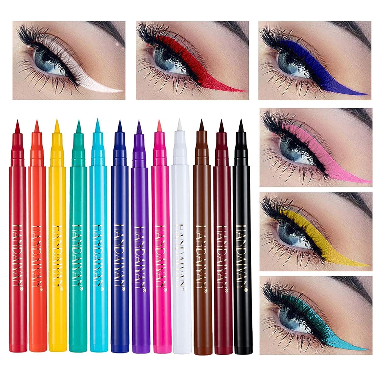 Ranking TOP9 Colorful Eyeliner low-pricing Pencil COOSA 12 Colors Long Lasting Waterpro
