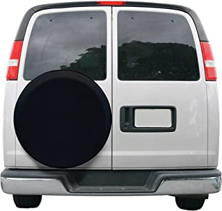 Classic Accessories OverDrive Universal Fit Spare Tire Cover, Black, Small