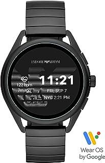 Emporio Armani Men's Multicolor Dial Stainless Steel Digital Smartwatch - ART5020