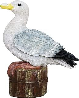 resin seagull statue