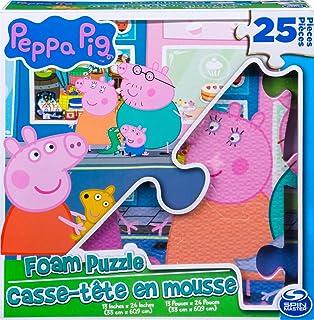Peppa Pig 1 Puzzle Personalizado de Espuma de 25 Piezas, a Partir de 4 años, 6056256
