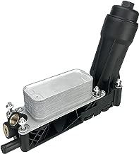 Engine Oil Cooler Filter Assembly | V6 3.6L | 5184294AE for 2011-2013 Dodge Chrysler Jeep | 200 300 Town & Country Avenger Challenger Charger Durango Grand Caravan Journey Grand Cherokee Wrangler RAM