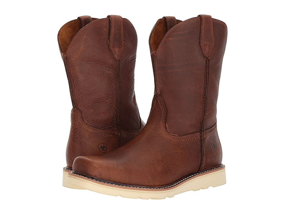 Ariat Rambler Recon Square Toe (Golden Grizzly) Cowboy Boots