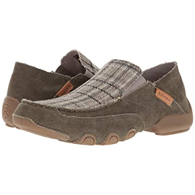 Roper Dougie (Distressed Army/Grey Plaid) Men