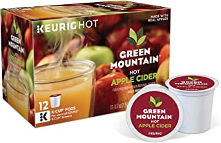 Green Mountain Nautrals Hot Apple Cider, Single-Serve Keurig K-Cup Pods, 72 Count