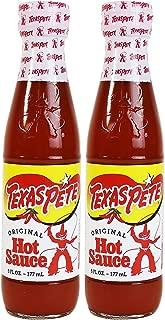 Texas Pete Original Hot Sauce 6 oz. (Pack of 2)