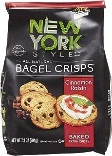 New York Style Cinnamon Raisin Bagel Chips, 7.2 oz