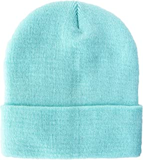 Telea 100% Acrylic Winter Cuffed Beanie with Soft Lining Adult Size for Men and Women