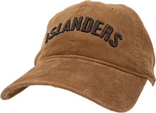 Islanders Relaxed Corduroy Adjustable Hat