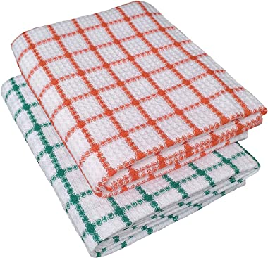 VELHUB Cotton Bath Towels Multicolor Set of 2pcs, Size 75cm x 150cm