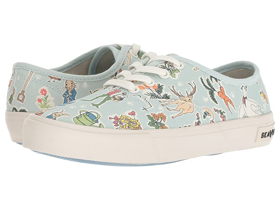 SeaVees Legend Sneaker Peter Rabbit (Toddler/Little Kid/Big Kid) (Green Peter Rabbit) Men