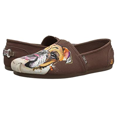 BOBS from SKECHERS Bobs Plush BD Babe (Brown) Women