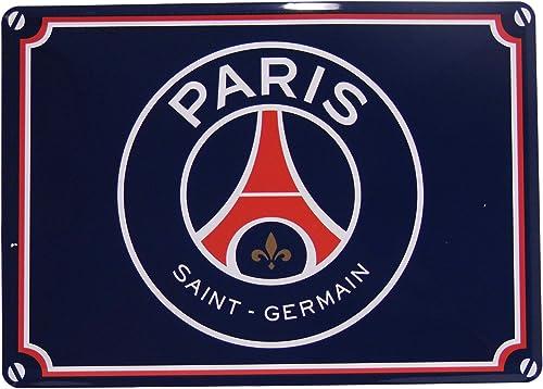 Plaque de rue PSG - Collection officielle PARIS SAINT GERMAIN - Football Ligue 1 - Taille 15 x 20 cm