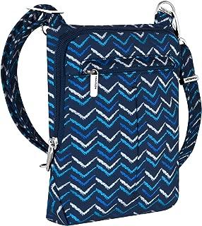 Travelon Anti-Theft Classic Light Mini Crossbody Bag (V Stripe)