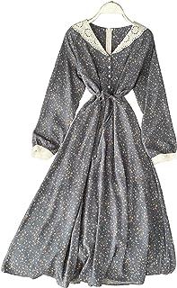 فستان كاجوال بنمط فلور جيرل للنساء من كاتاليا