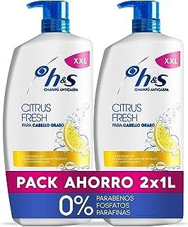 Head & Shoulders Citrus Fresh Anticaspa Champú para el cabello graso 2 x 1000 ml