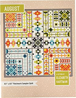 Elizabeth Hartman - August Quilt Pattern