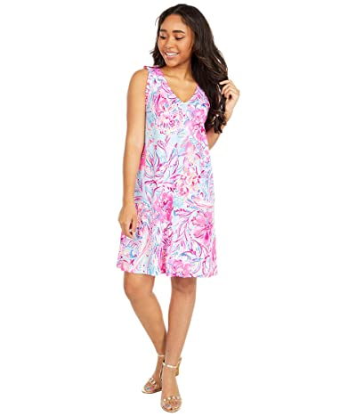 Lilly Pulitzer Aron Dress (Multi Isla De Coco) Women