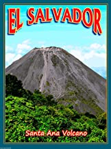 A SLICE IN TIME El Salvador Santa Ana Volcano Central Latin America Travel Advertisement Collectible Wall Decor Poster Print. Measures 10 x 13.5 inches