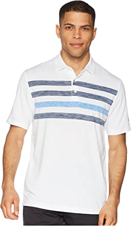 Space Dye Stripe Polo