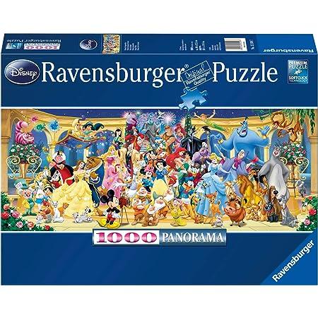 Ravensburger - Puzzle Adulte - Puzzle 1000 p - Photo de groupe Disney (Panorama) - Adultes et enfants dès 14 ans - Puzzle de qualité supérieure - 15109