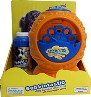 Bubble Machine for Kids and Dogs - Includes Free Bacon Bubbles