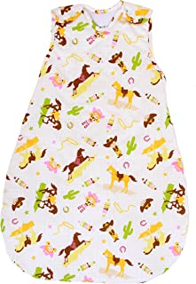 Baby Sleeping Bag with Horse Pattern, 2.5 Tog's Winter Model (Large (22 mos - 3T))