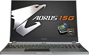 [2020] AORUS 15G (XB) Performance Gaming Laptop, 15.6-inch FHD 240Hz IPS, GeForce RTX 2070 Super Max-Q, 10th Gen Intel i7-10875H, 16GB DDR4, 512GB NVMe SSD