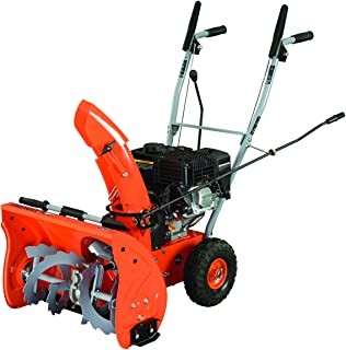 "YARDMAX YB5765 Two-Stage Snow Blower, 6.5 hp, 196cc, 22"""