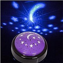 Starlight Projector Lampada Proiettore Di Luna E Stel altro materiale viola