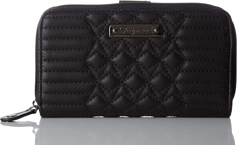 Kaporal Women's NABEGH18W05 Wallet Black Black (BLACK BLACK)
