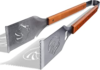 """Sportula Products 7019895 Notre Dame Fighting Irish Classic Sportula Grill-A-Tongs BBQ Tool, Silver, Sportula® 18"""" Stainle..."""