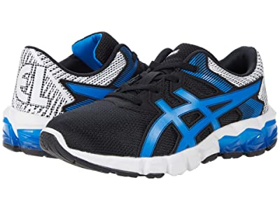 ASICS Kids GEL-Quantum 90 2 (Toddler/Little Kid) (Black/Electric Blue) Boy