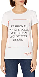 Karl Lagerfeld Paris Women's Fashion Quote TEE
