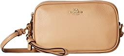 Polished Pebble Crossbody Clutch