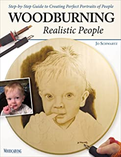 wood burning portrait
