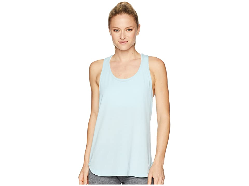 ASICS Flex Tank Top (Porcelain Blue Heather) Women