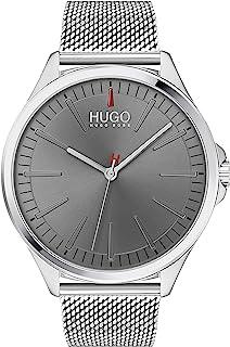 Hugo Boss Men'S Grey Dial Stainless Steel Watch - 1530135