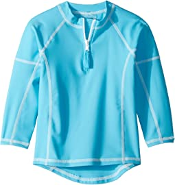 Toobydoo - Aqua long Sleeve Rashguard (Infant/Toddler/Little Kids/Big Kids)