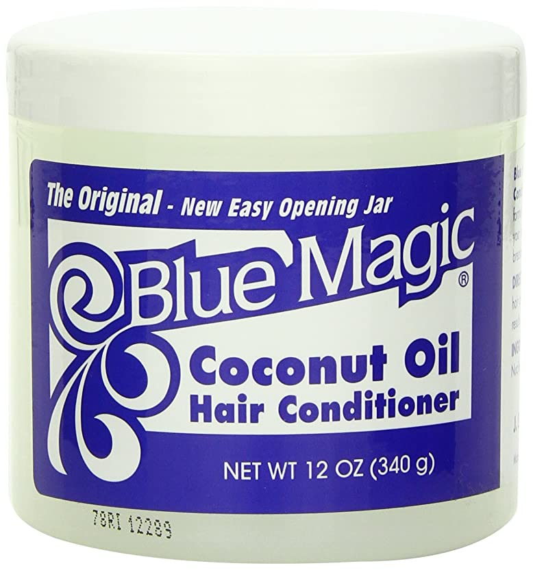 悪性線変化するBlue Magic Coconut Oil Hair Conditioner Case by DDI