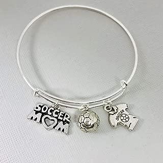 Soccer Mom Bracelet Gift for Women