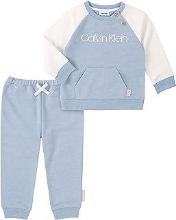 Calvin Klein baby-boys 2 Pieces Pants Sets